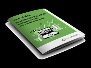 Neuer Profi-Guide Kundenservice 2018 - Trends, Zahlen und Benchmark im Überblick