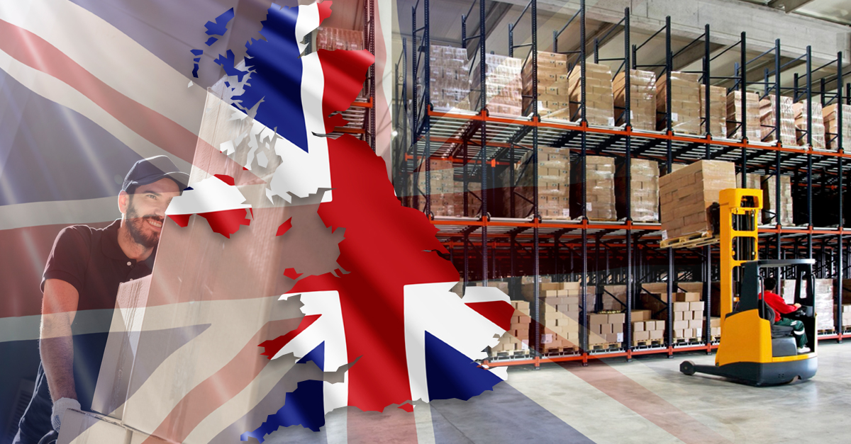 Hello UK! Nouveau centre e-logistique Londres Heathrow