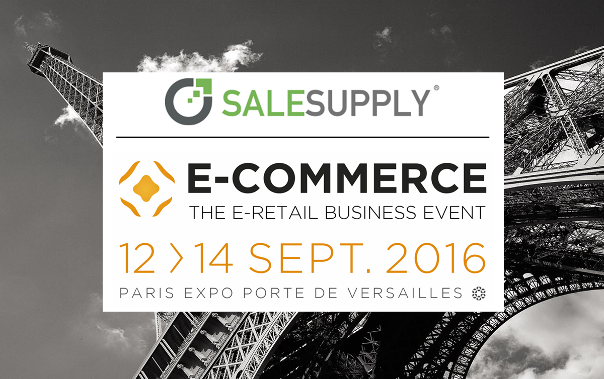 Salesupply au Salon E-commerce Paris 2016