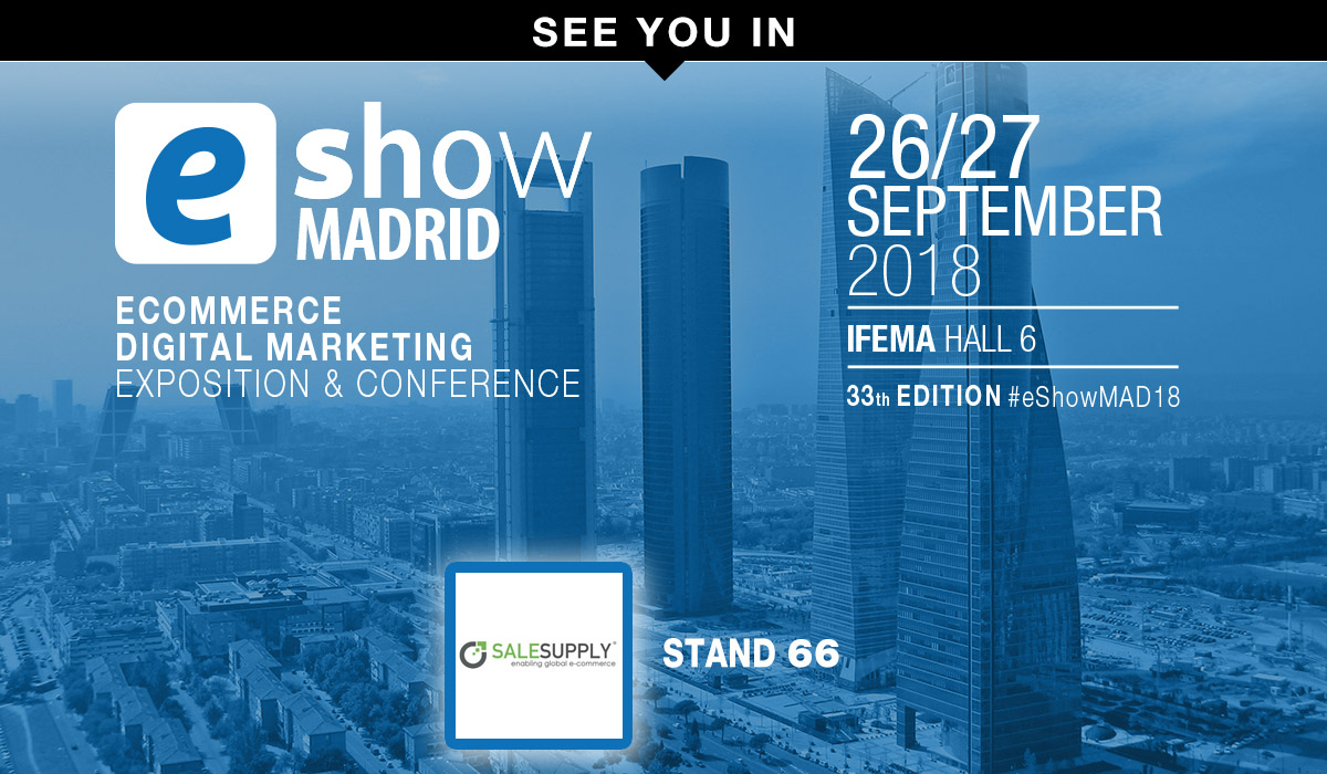¿Aún no ha descargado su invitación para el e-Show?¡Le esperamos los días 26 y 27 en el IFEMA de Madrid!